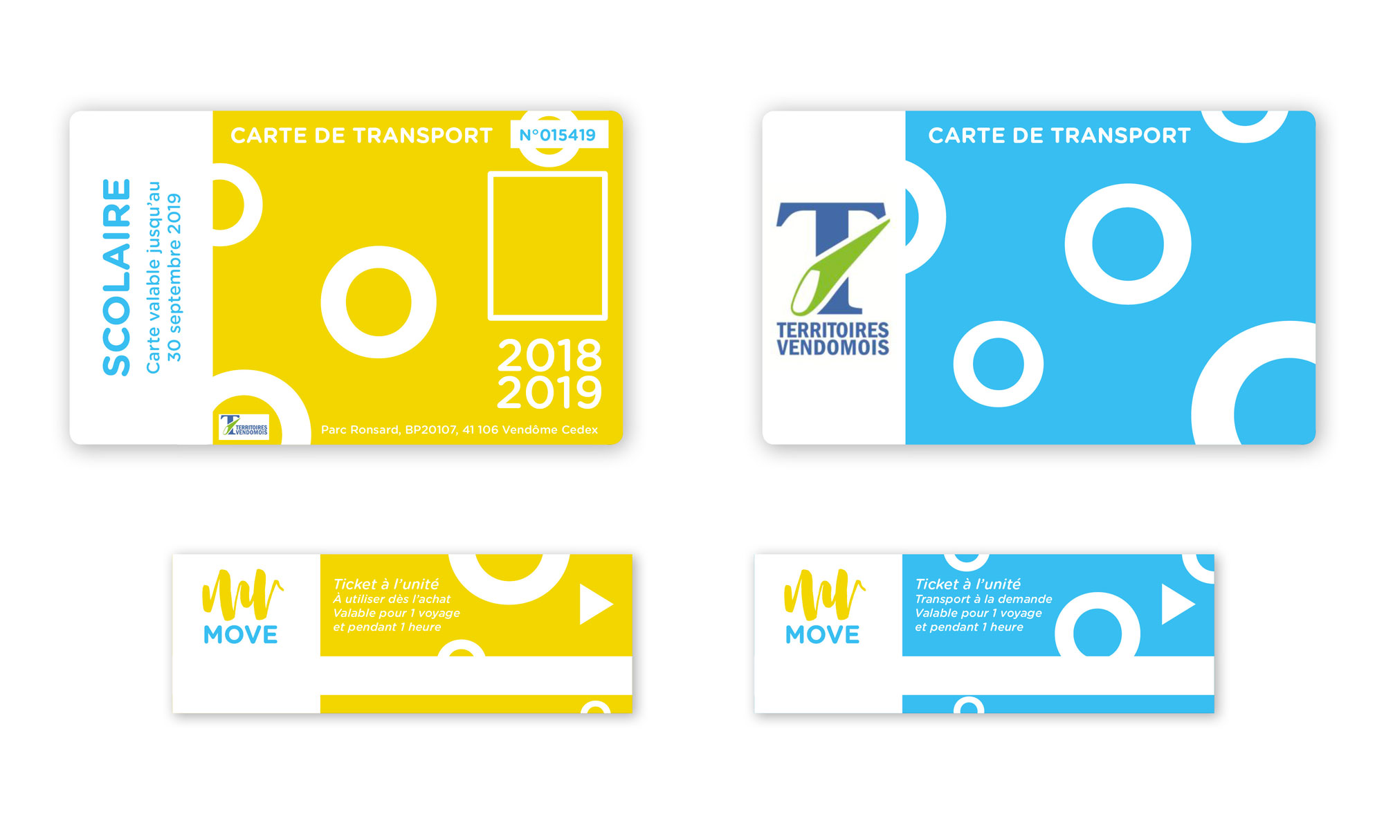 design de ticket de transport