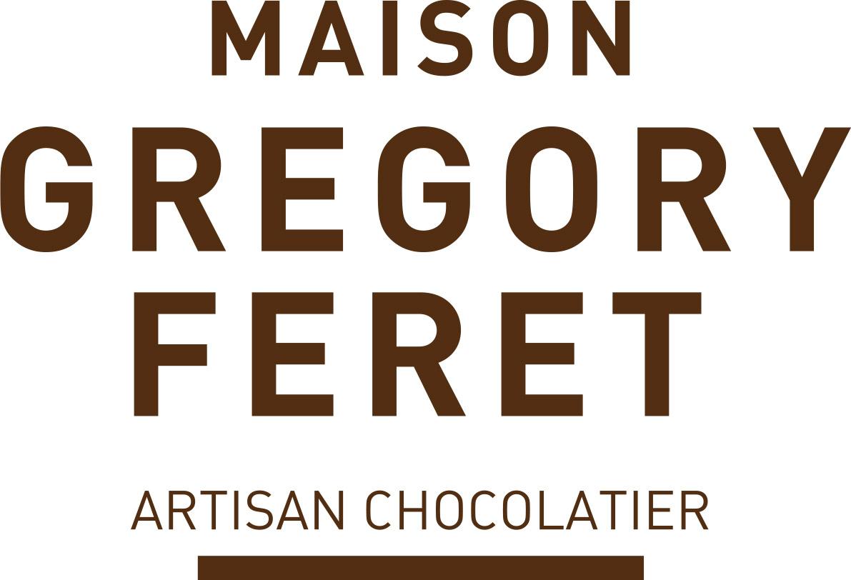 Maison Grégory Ferret, Artisan Chocolatier, dessin d'étiquettes adhésive