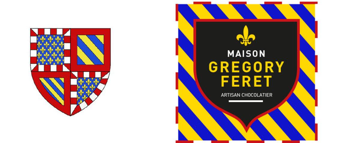 Reprise du design du blason d'Auxerre pour la communication