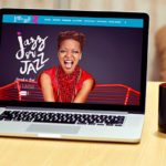 Festival de Jazz à Orléans, Jazz or Jazz est une commande de la Scène Nationale, pour laquelle nous avons réalisé le visuel de la première édition avec affiches et flyer, ainsi que la création d'un site internet et d'une communication globale.