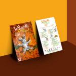 Création d'une identité graphique et d'une campagne de communication à partir d'une illustration et de mise en page pour La Passerelle à Fleury les aubrais par l'Agence des Monstres