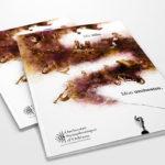 Evenement musical à Orléans, réalisation d'un univers graphique pour une plaquette de présentation et des affiches grace à une illustration graphique onirique mettant en avant la musique classique t l'orchestre symphonique d'Orléans par l'Agence des Monstres
