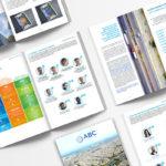 Mise en page graphique du rapport d'activité de l'association Bilan Carbone par l'agence de communication à Orléans Des Monstres.