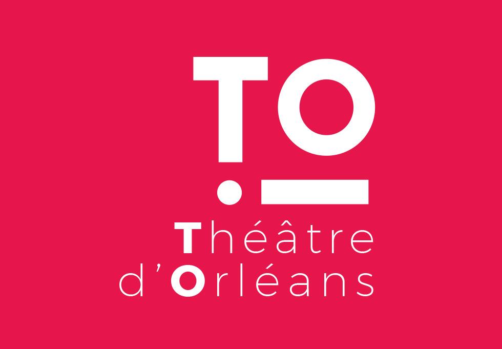 Proposition de logo pour le théâtre national de la ville d'Orléans qui joue avec le point d'exclamation pour rappeler l'émotion produite par un spectacle, réalisé avec de la Monserrat, une typographie moderne et élégante, cette identité qui donne un surnom au théâtre d'Orléans à l'image des autres théâtres nationaux a été créée par l'agence des monstres à Orléans.