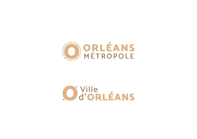 Identité Orléans métropole et ville d'Orléans