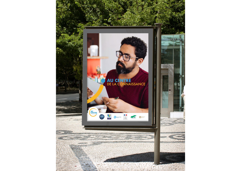 Campagne de comunication pour au centre
