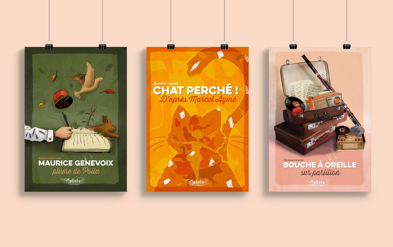 poster, exposition, des monstres sous mon lit, affiche, agence de communication, graphisme, illustration